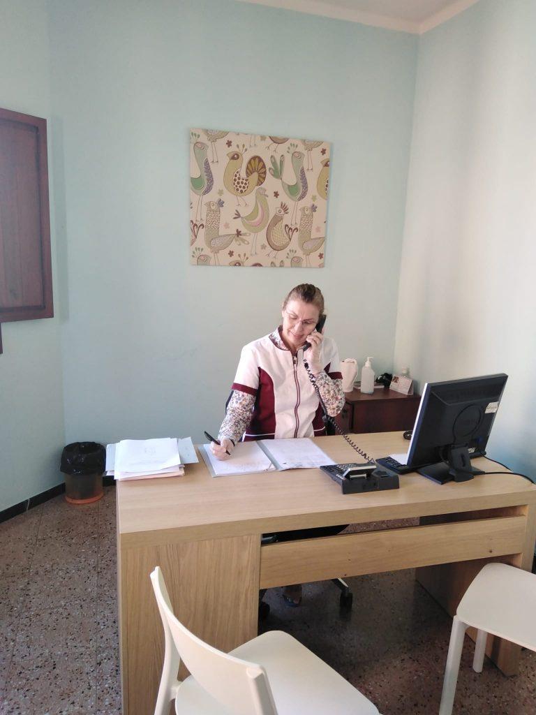 Atención telefónica por nuestra psicóloga Genoveva de la UAD de Tamaraceite
